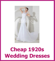 cheap 1920 wedding dresses