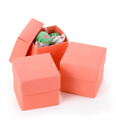 two part favor boxes