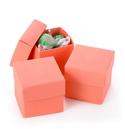 two part favor boxes