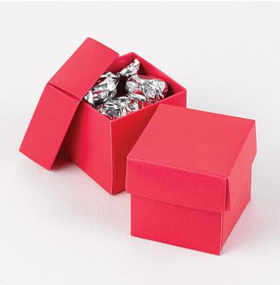 cheap coral favor boxes