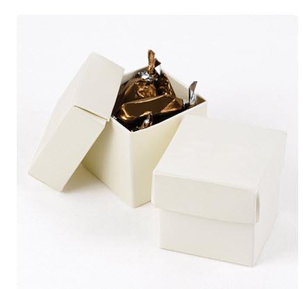 cheap white favor boxes