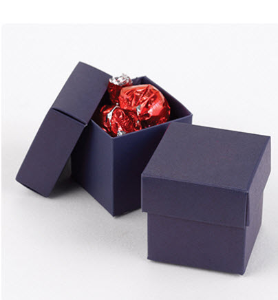 navy favor boxes