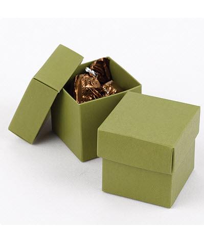 cheap olive favor boxes