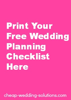 Cheap Wedding Plans Getting A Bit Expensive