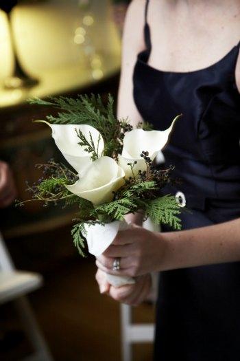 3 calla lilly wedding bouquet