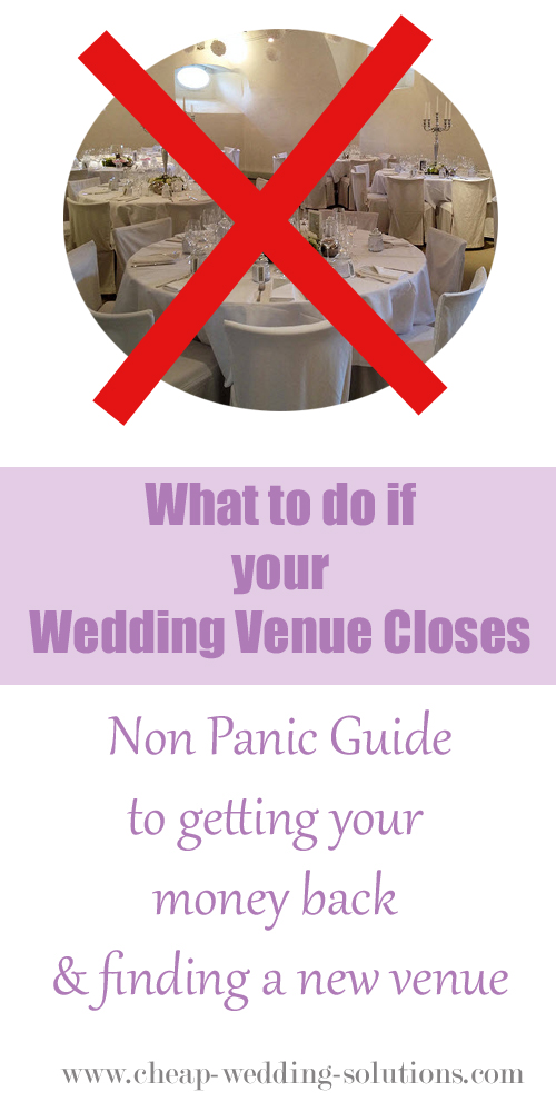 wedding venue closes guide