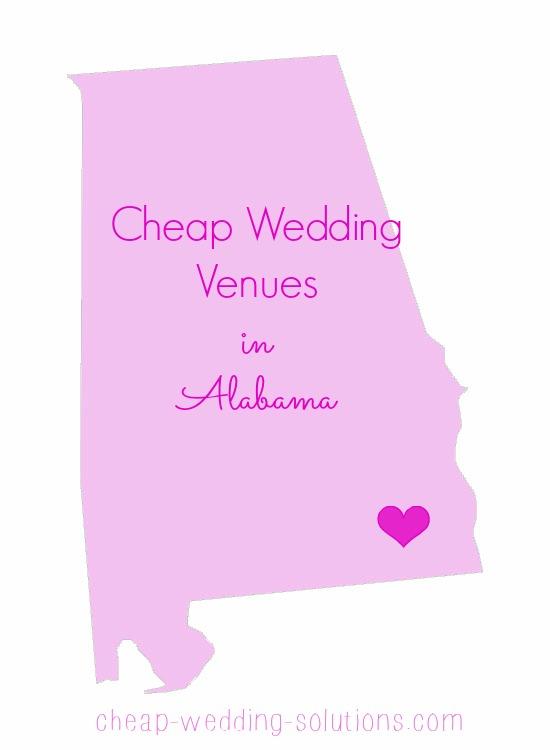 cheap wedding venues in alabama