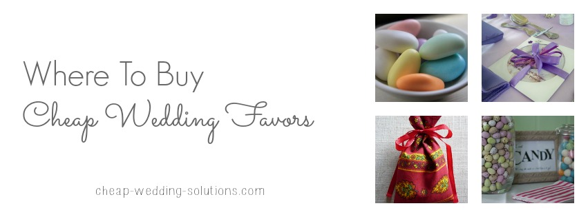 where to buy cheap wedding favors