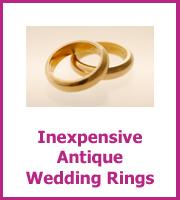 antique wedding ring size
