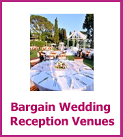 bargain wedding reception venues