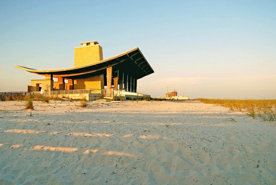 beach pavilion wedding venue, Gulf State park
