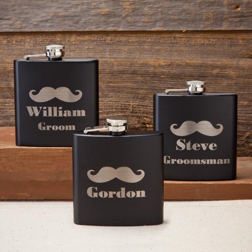 groomsmen flasks