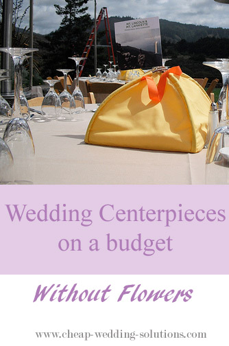 budget wedding centerpiece ideas without flowers