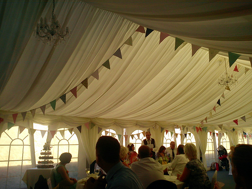 wedding bunting decorations