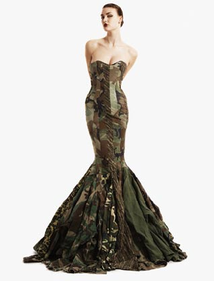 Hunting Wedding on Camo Wedding Dresses