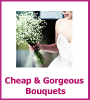 cheap wedding bouquet ideas