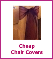 cheap wedding chair covers