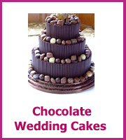 cheap chocolate wedding cakes