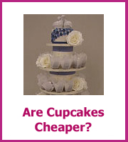 are wedding cupcakes cheaper
