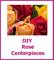 cheap diy rose centerpieces