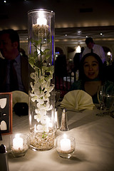 Tall Wedding Centerpiece Vase by Caitlinator
