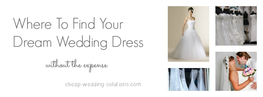 where to buy a cheap wedding dress