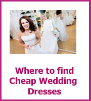 where find cheap wedding dresses