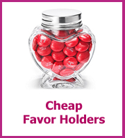 cheap wedding favor holders