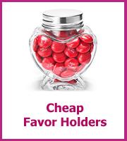 cheap wedding favor holders