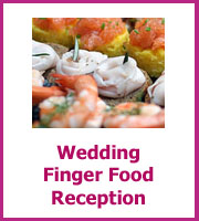 Wedding Finger Food Reception