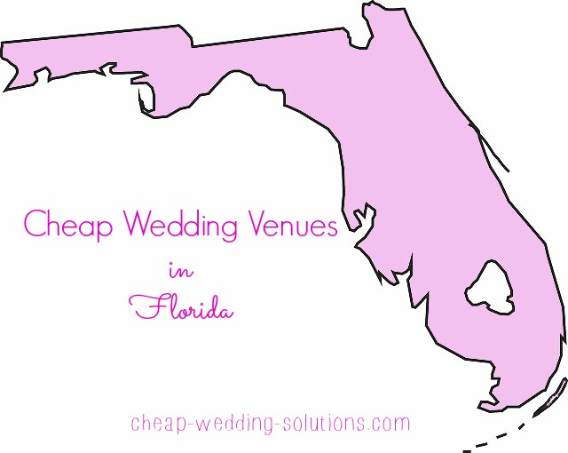 cheap florida wedding venues
