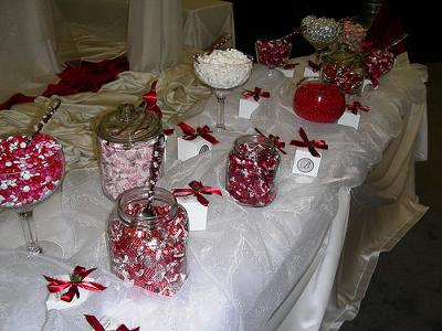 Candy Centerpieces For Wedding