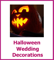 haloween wedding decorations
