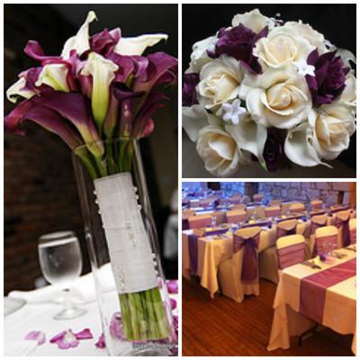 Lovely Plum Wedding Ideas