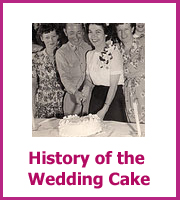 history of the wedding cakes