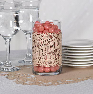 cheap wedding table decoration