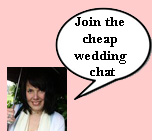 cheap wedding chat