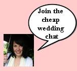 cheap wedding chat