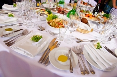 modern wedding reception food ideas