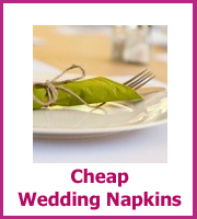 cheap wedding napkiins