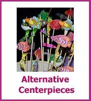 alternative cheap centerpieces