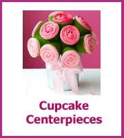 cupcake centerpieces