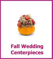 inexpensive fall wedding centerpieces