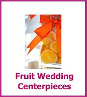 inexpensive fruit wedding centerpieces