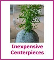 inexpensive centerpieces
