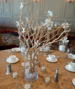 Wedding reception centerpieces on a budget and in your for Cheap decorating ideas for wedding reception tables