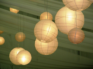 paper wedding lanterns