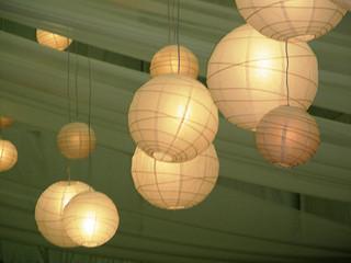 paper wedding lanterns