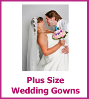 cheap plus size wedding gown