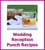 cheap wedding reception punch recipes